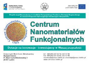 EFRR POIG 2.1: Centrum Nanomateriałów Funkcjonalnych